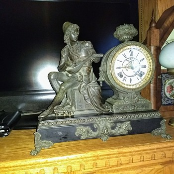 Ansonia Minstrel Clock or Not? - Clocks