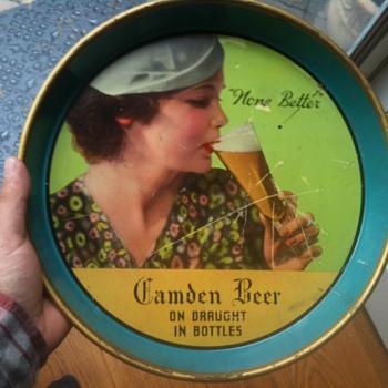 Camden Beer Tray 1940's - Breweriana