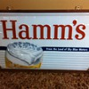 Hamms Beer Sign 3' x 5'