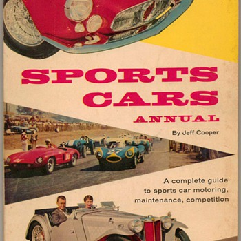"1957 - ""Sports Cars Annual"" Book - Books"