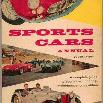"1957 - ""Sports Cars Annual"" Book"