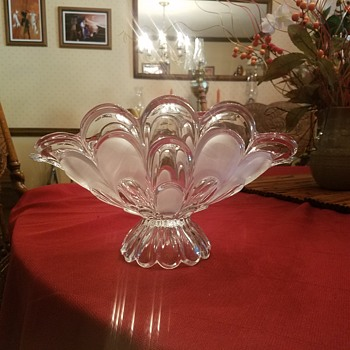 Lead crystal class fruit bowl - Glassware