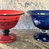Loetz - Pair of tango bowls