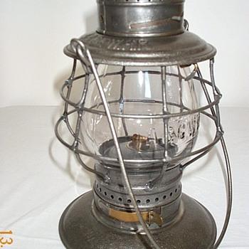 Atlantic & Great Western RR Railroad Lantern