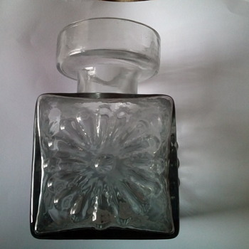 Dartington candle holder - Art Glass
