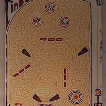 Hand Drawn Mazes... - Folk Art