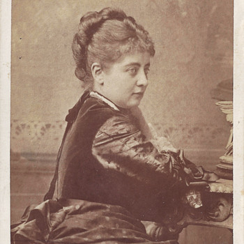 Austrian Soprano Pauline Lucca CDV by Rocher of Chicago, Ill. - Photographs