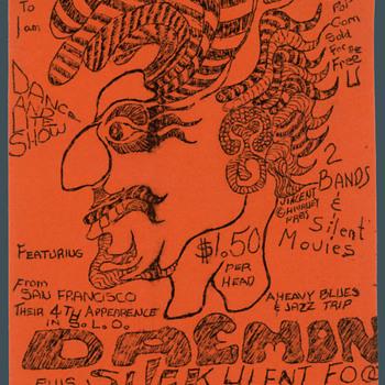 Awesome 1960's California Hippie Era Ephemera - Advertising