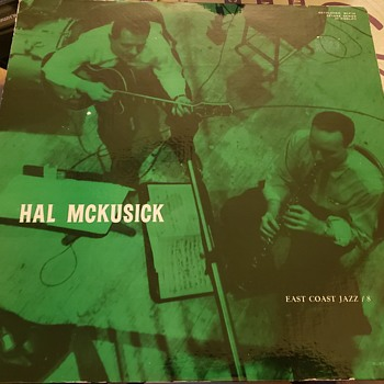 Hal Mckusick-East Coast Jazz Series #8 (#BCP-16) (LP) VG+/VG+ - Records