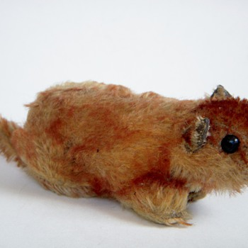 Antique Stuffed Animal~Squirrel?....some cute little creature~Looks very old - Dolls