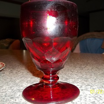 Is this Fostoria? I have an entire set plates and all from my Grandmother - Glassware