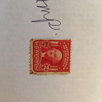 2 cent Washington stamp