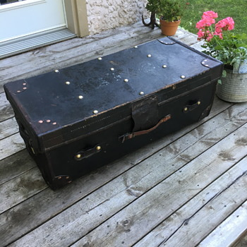 Robert Day and Sons Antique Trunk - Furniture