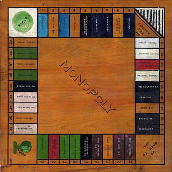THE 1920 PHILADELPHIA FOLK MONOPOLY GAME