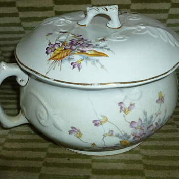 Antique Chamber Pot Indentification - China and Dinnerware