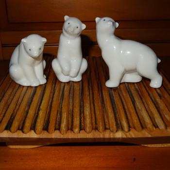 The Three (Lladro) Bears ..