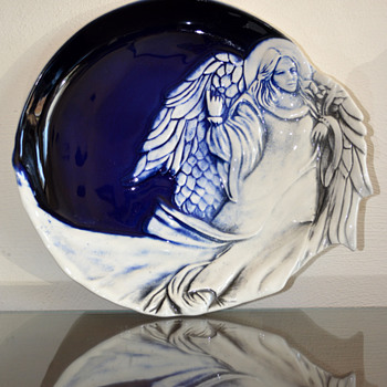 Angel Plate - Pottery