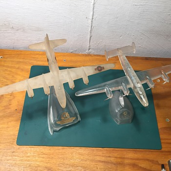 Rare Consolidated B-32 Plexiglas Model - Advertising