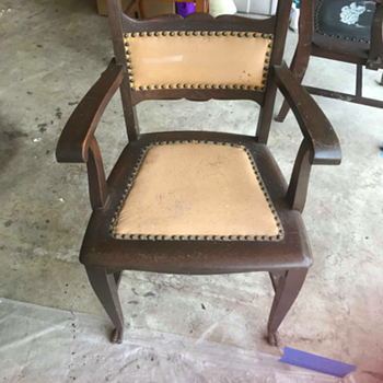 Mystery Antique Chair - Furniture