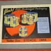 Miller Line, Color Typewriter Advertising