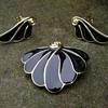 Trifari Brooch Set - Fan Seashell