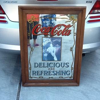 Old Coke Mirror - Coca-Cola