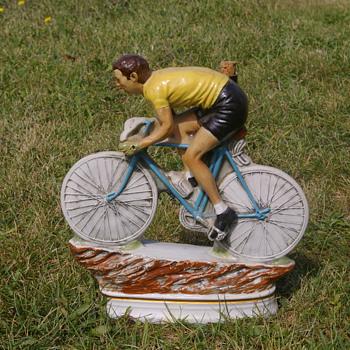 Tour de France Ceramic Figurine