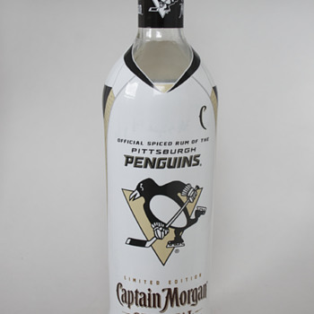 Captain Morgan Pittsburgh Penguins' Collectible Bottle….. - Hockey