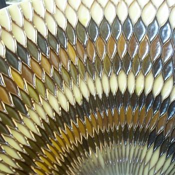 Molded Honeycomb Resin Hanging Lamp - Thomas Mfg - Beaver Dam, New York - Lamps