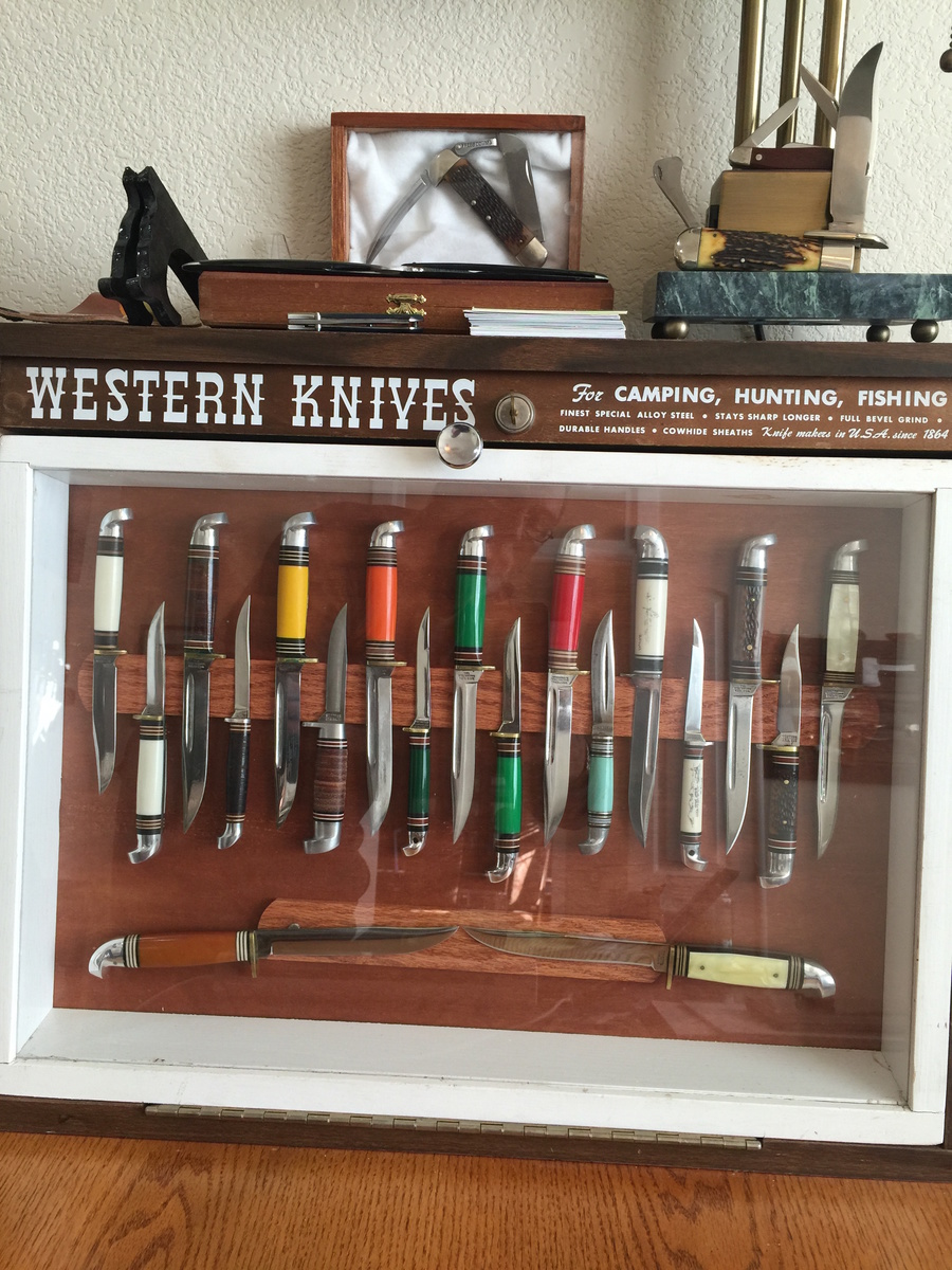 Western Knife Bird and Trout Collection | Collectors Weekly