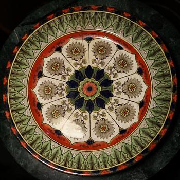 Royal Doulton Cyprus Plate - Pottery