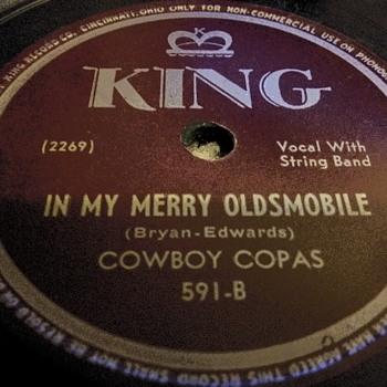 "10"" SHELLAC DISC....#12 - Records"