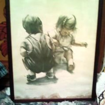 Joanne Thompson Lithograph/children - Posters and Prints