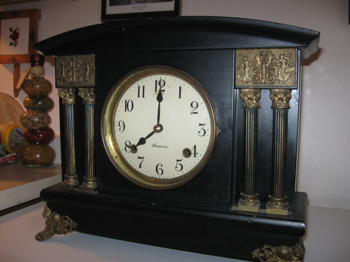 Antique mantel clocks sessions