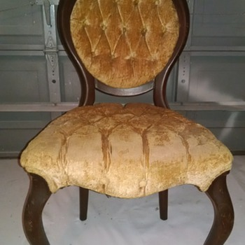 trying to find out what style antique chairs these are and what period They came from