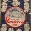 NEW YORK YANKEE'S 1960 OFFICIAL PROGRAM AND SCORECARD