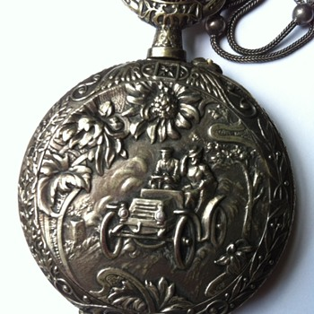 Grand-father's motor show pocket watch. - Classic Cars