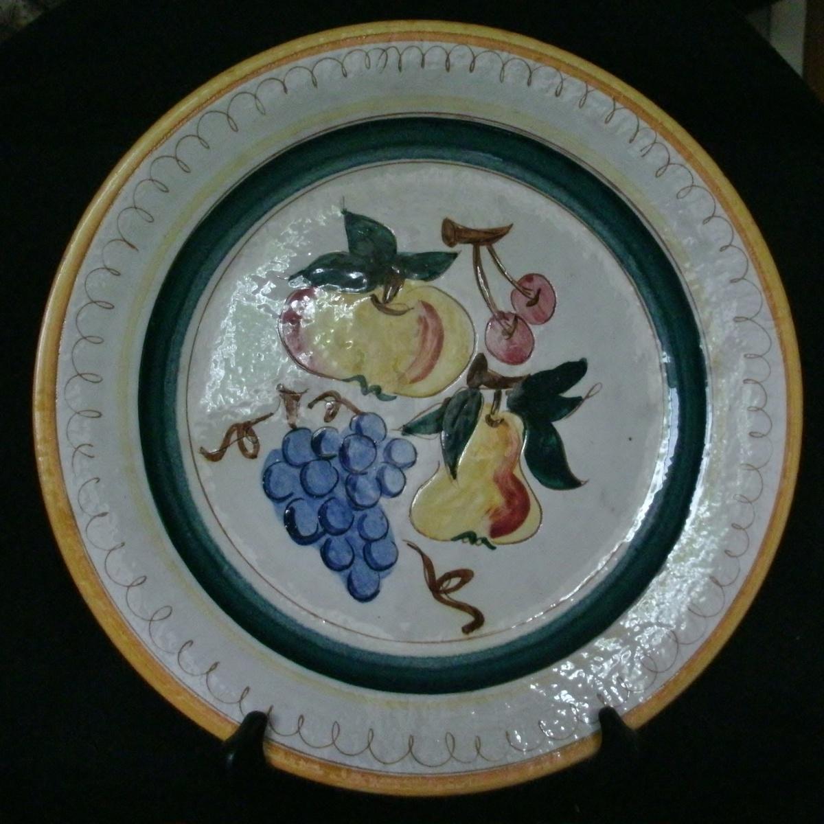 Stangl Pottery 12 Platter Terra Rose