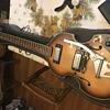 Vintage violin guitar