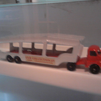 My holy grail...The red/silver auto carrier... - Model Cars