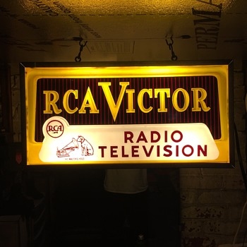 RCA victor sign - Signs