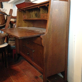 Unknown Arts and Crafts Desk - Arts and Crafts
