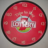 HOOSIER LOTTERY CLOCK.......saved from heading to the trash bin.