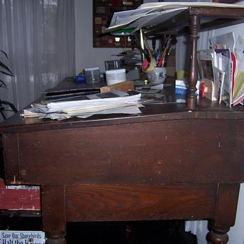 Early Printer's Desk - Furniture