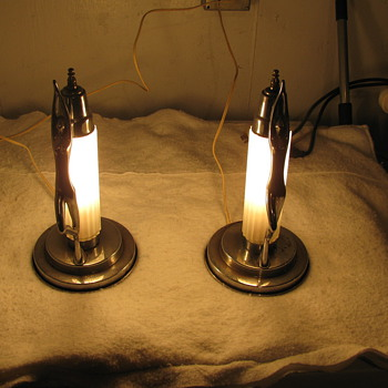 P.P.MFG.CO.1 Table Lamps - Lamps