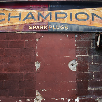 Champion Spark Plugs….. - Signs