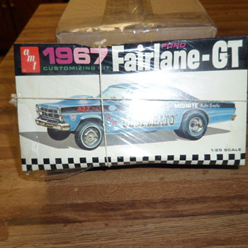 1967 Fairlane-GT - Model Cars