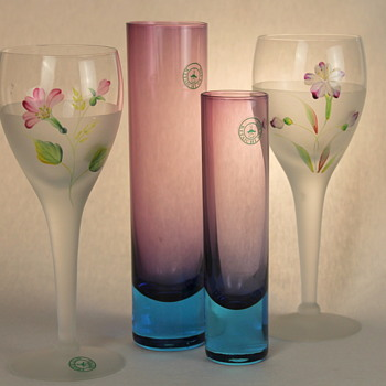 Kitaichi Glass group - Art Glass