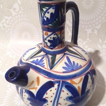 Portuguese Olive Jug? - Pottery