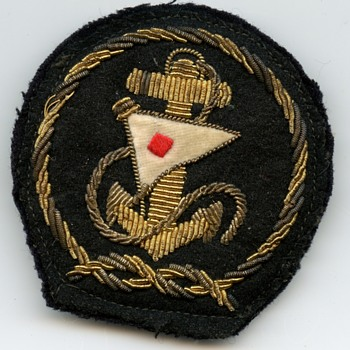 Unknown felt padded patch - Military and Wartime